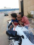 Checking For Blind Spots With Young Rider..jpg