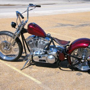 Newest addition....2015 Rod and Rides Dropseat Bobber